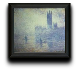 parlament by claude monet