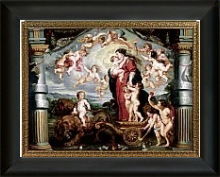 the triumph of divine love, peter paul rubens